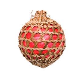 Tsaw Christmas Cedar Ornament Made by Francis Jackson (Gitxsan).