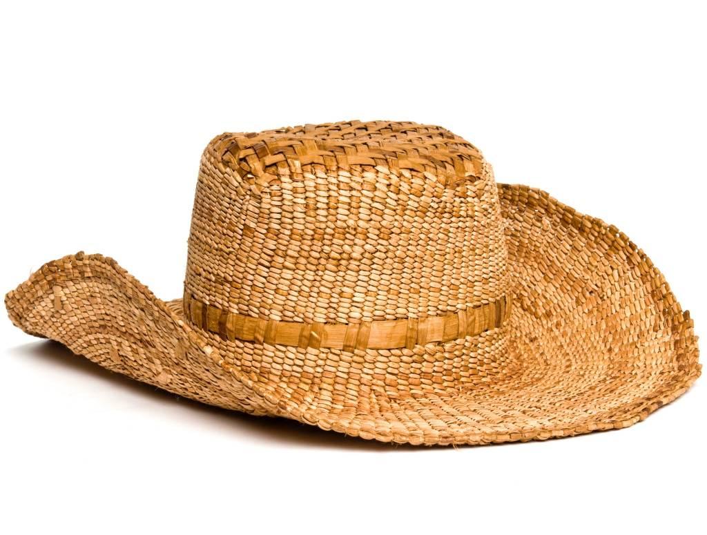 Western Cedar Bark Hat by Francis Jackson (Gitxsan).