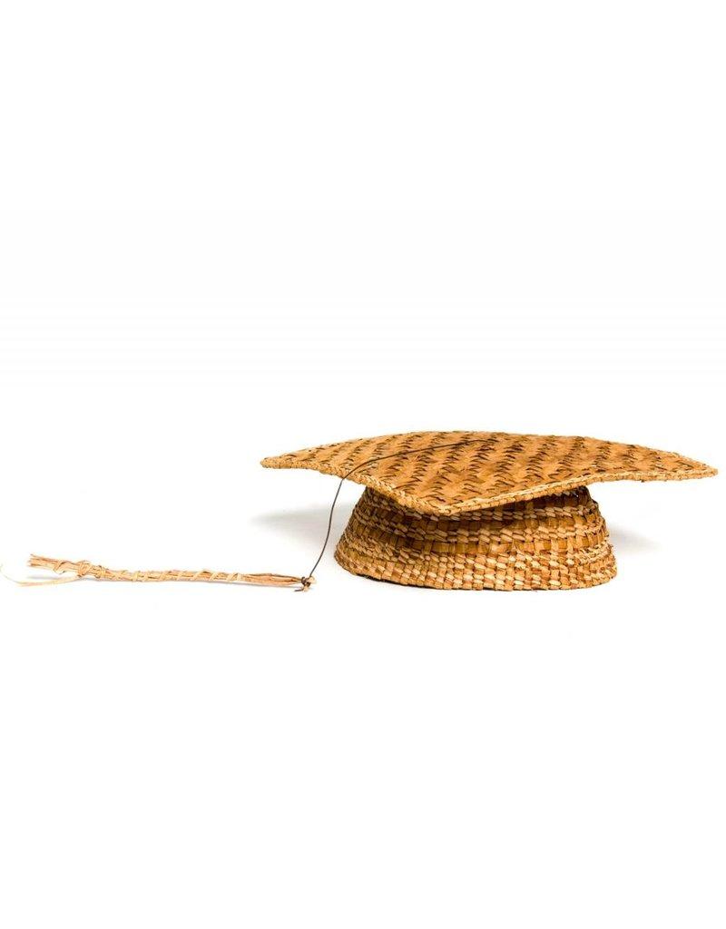 Cedar Bark Grad Hat by Francis Jackson (Gitxsan).