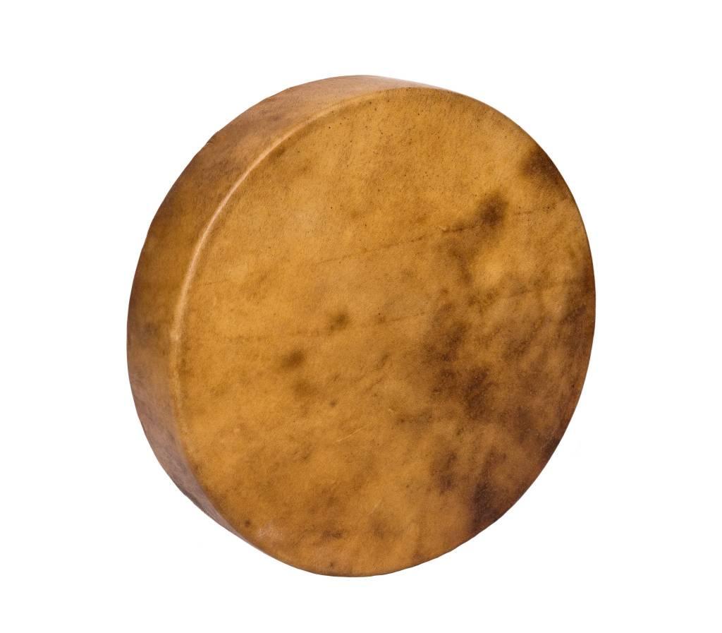 """Unpainted 18"""" Native Elk drum."""