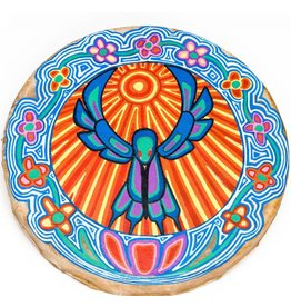 Hummingbird Hand Drum by Gyauustees