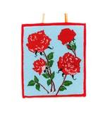 Roses Beaded Flat Bag