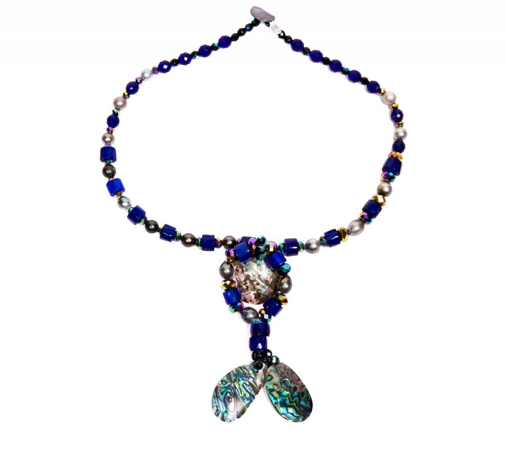 'Butterfly' Necklace by Donna Hanson (Homalco).