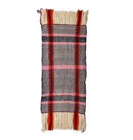 Traditional Salish Hand Woven Blanket by Keith Nahanee (Squamish).
