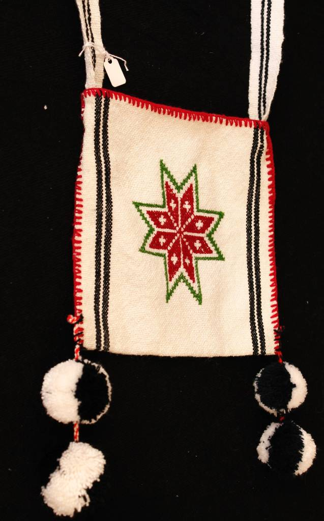 Medicine (Peyote) Bags by Francisco and Velina Hernandez (Huichol).