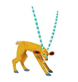 Goat Alebrije by Armando Jimenez and Antonia Carrillo (Zapotec).