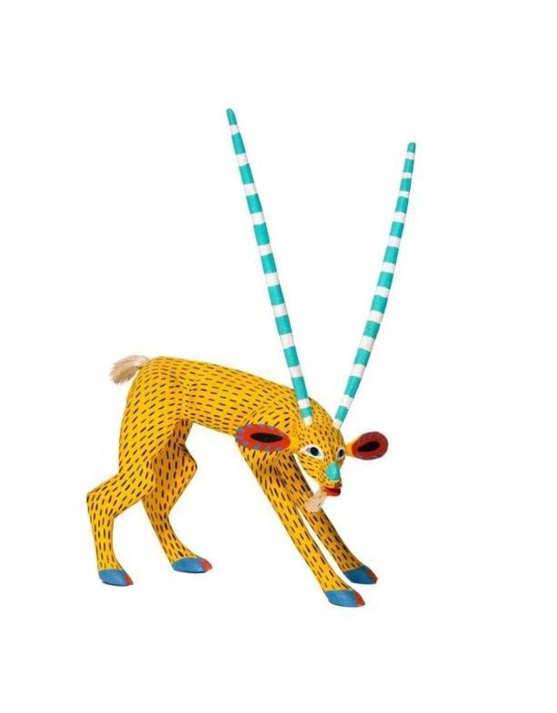 Goat Alebrije by Armando Jimenez and Antonia Carrillo (Zapotec).