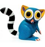 Lemur Alebrije by Armando Jimenez and Antonia Carrillo (Zapotec).
