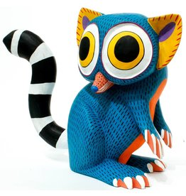 Lemur Alebrije by Armando Jimenez and Antonia Carrillo (Zapotec).