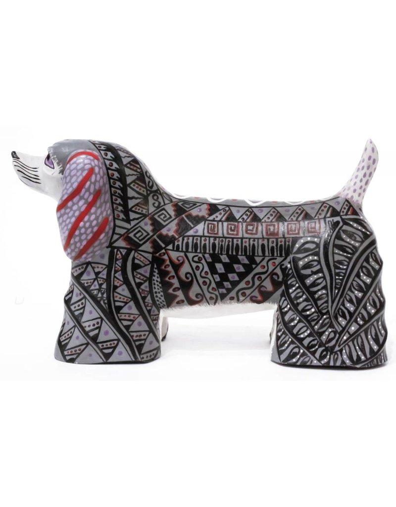Dog Alebrije by Mario Castellanos and Rayna Ramirez (Zapotec).