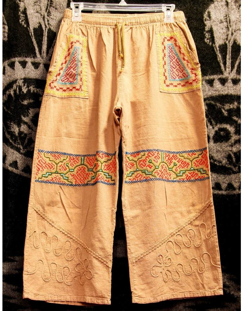 Shipibo Embroidered Pants