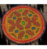 "6"" Patch by Elisa Vargas Fernandez (Shipibo)."