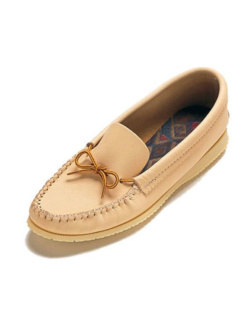 Moosehide Moccasins with Outdoor Sole
