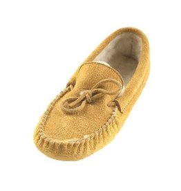 Reversed Moosehide Moccasins - lined