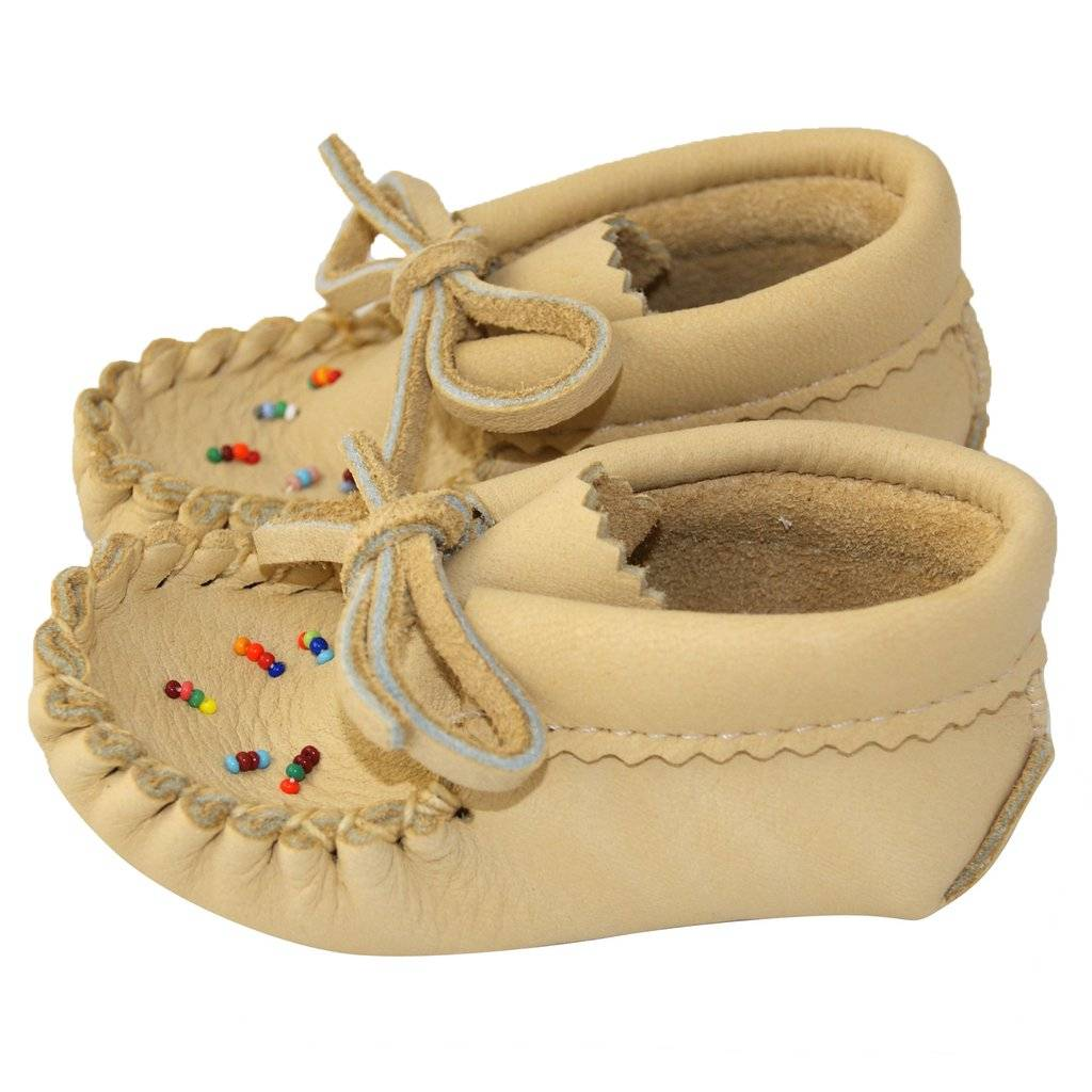 Moosehide Childrens' Moccasins