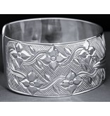 "1"" Silver Hummingbird Bracelet by Carrie Matilpi"