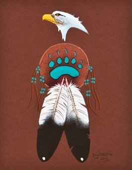 Original Painting by Brian Grandbois (Dene).