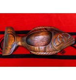 Stained Halibut Bowl by Will Wadhams (Kwakwakawakw).