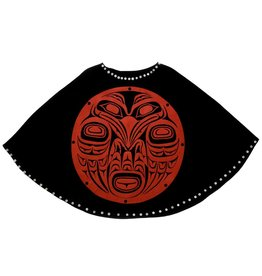 Raven Cape by Leona Edinshaw (Haida).