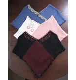 Childrens Hand Embroidered Alpaca Poncho