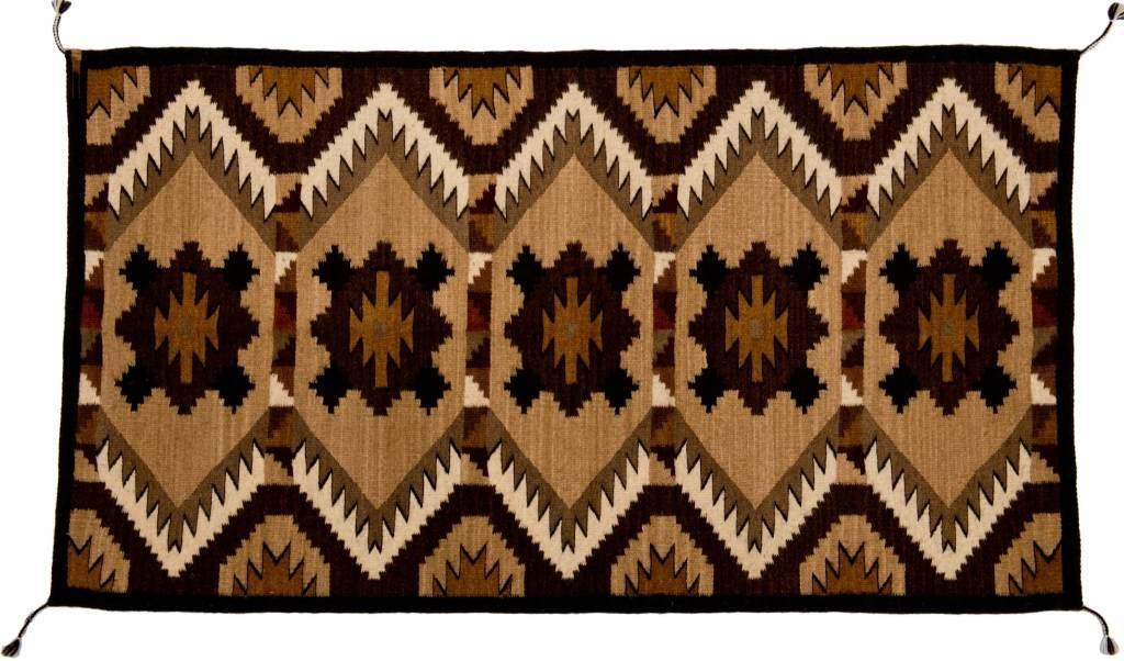 Hand Woven Rug (Zapotec).