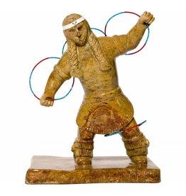 Soapstone Hoop Dancer by Gilbert Daniels (Dene).