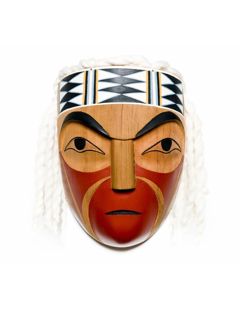 Osiam (Chief) Mask by Leslie Wells (Semiahmoo, Coast Salish).