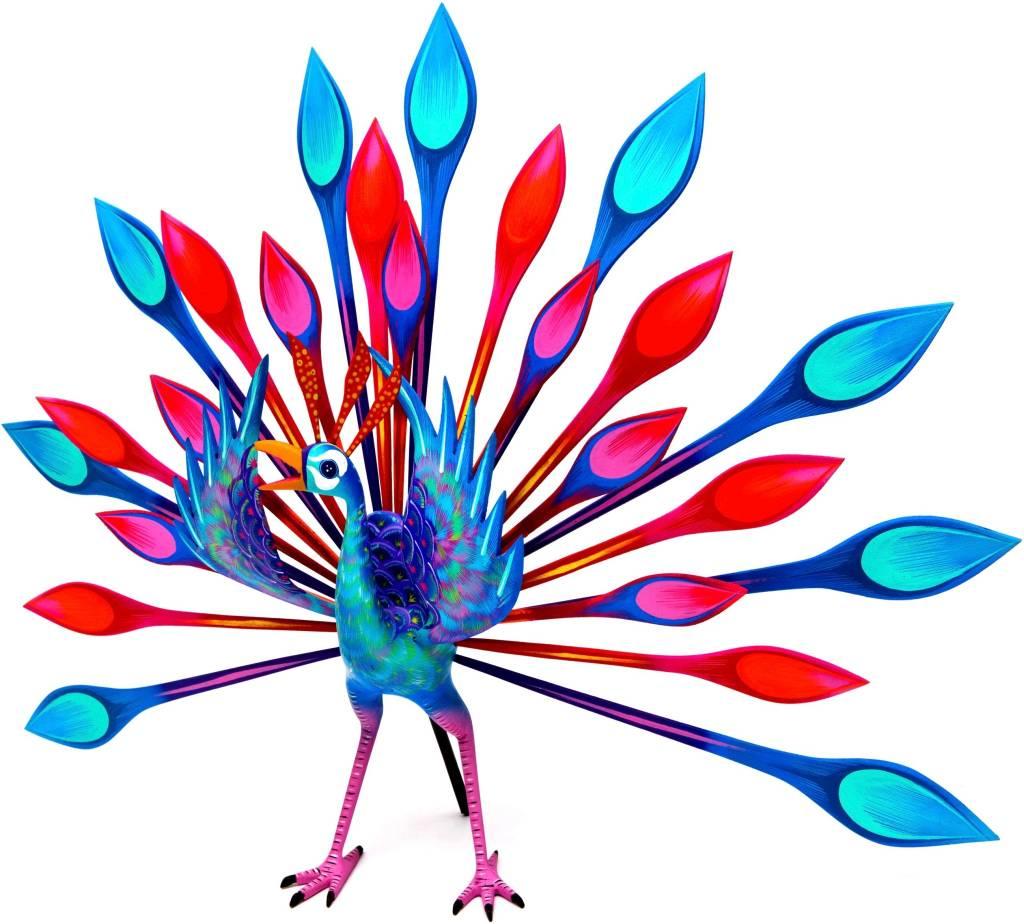 Peacock Alebrije (Zapotec).