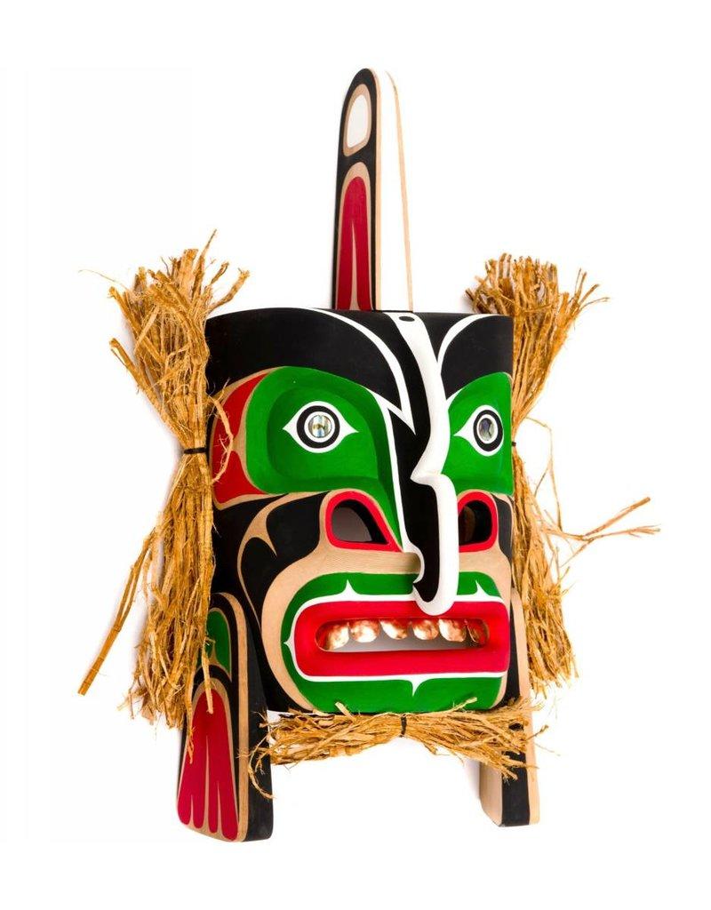Killer Whale Mask by Leonard Scow (Kwakwakawakw).