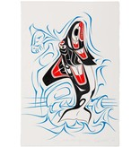 tsaw Original Painting 'Orca' by Richard Shorty