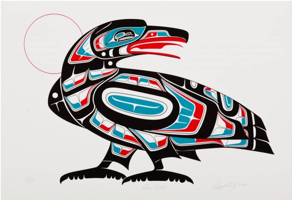 'Raven Trixter' Print by Richard Shorty.