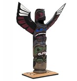 Thunderbird and Seal Totem Pole by Harvey Williams (Dididat).