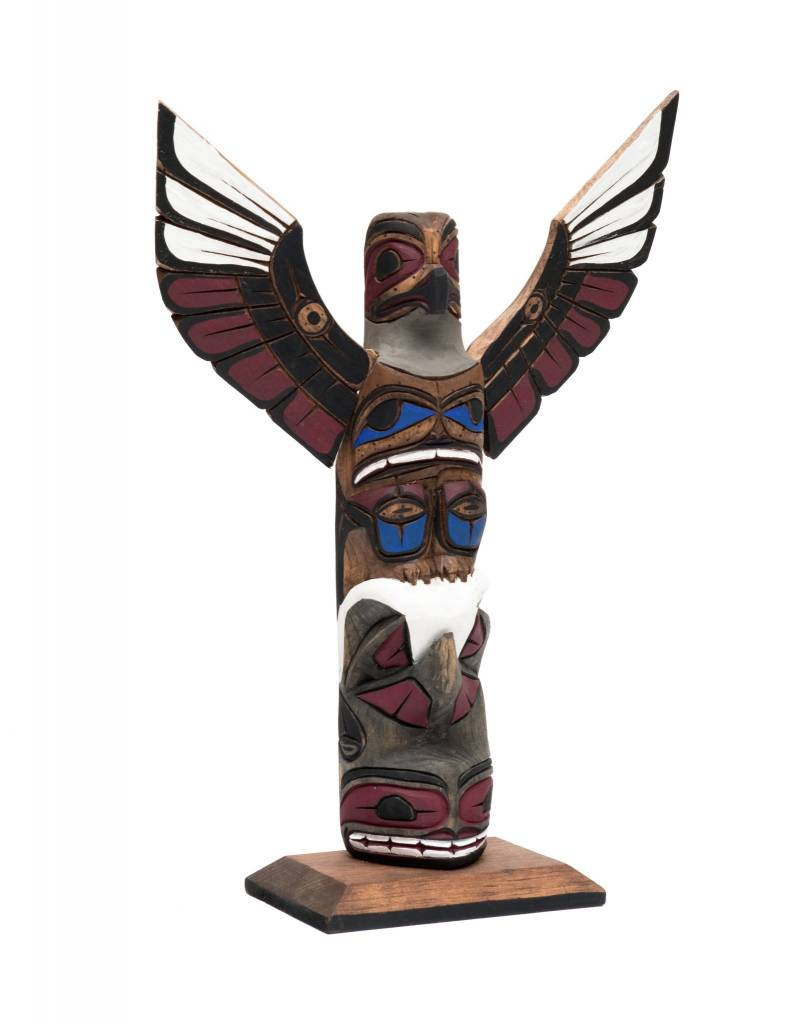 """12"""" Totem Pole by Harvey Williams (Dididat)."""