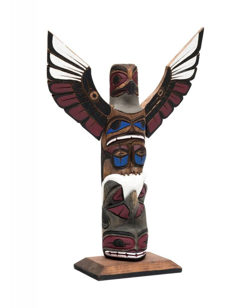 """12"""" Totem Poles by Harvey Williams (Dididat)."""