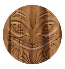 2 1/2' Bear Panel by Curtis Joe (Coast Salish).