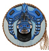 Kingfisher Moon Mask by Patrick Amos (Nuchahnulth).