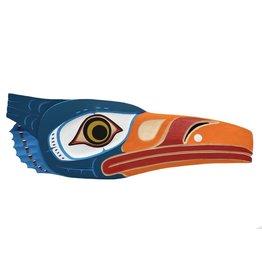 Kwagiulth Blue Heron by Shawn Karpes (Kwagiulth).
