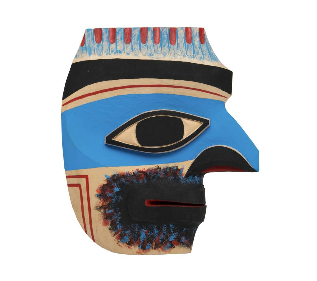 Nuu-chah-nulth Ancestor by Shawn Karpes (Kwagiulth).