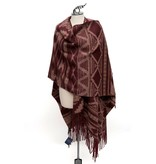 Cedar Mountain Woven Wool Blanket Shawl by Pendleton.