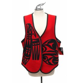 Applique Vest by Kieth Nahanee.