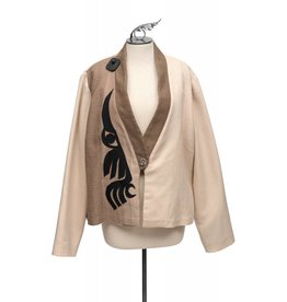 Wool Hummingbird Jacket by Ay Ay Mut.