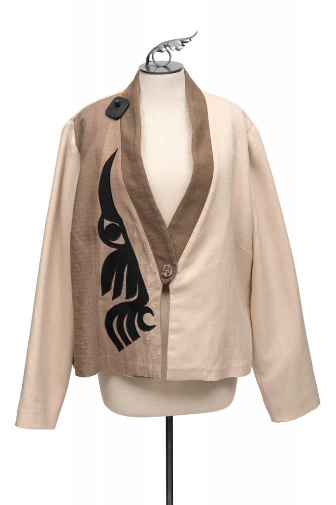 Wool Hummingbird Jacket by Ay Ay Mut.