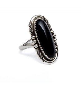 Long Black Onyx Ring by Randy and Etta Endito