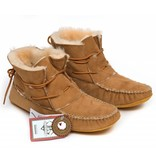 Mens' Sheepskin Ankle Moccasin