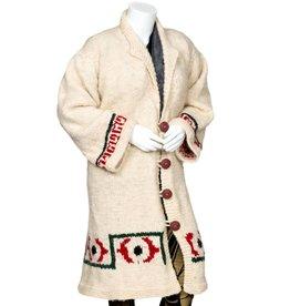 Debra Sparrow Floor Length Cowichan Sweater