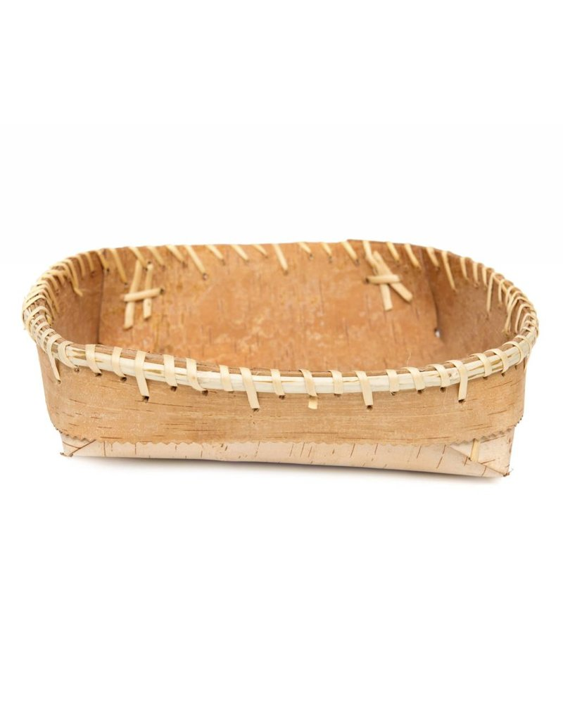 "Plain Birch Bark Bowl - 10"" by 10"""