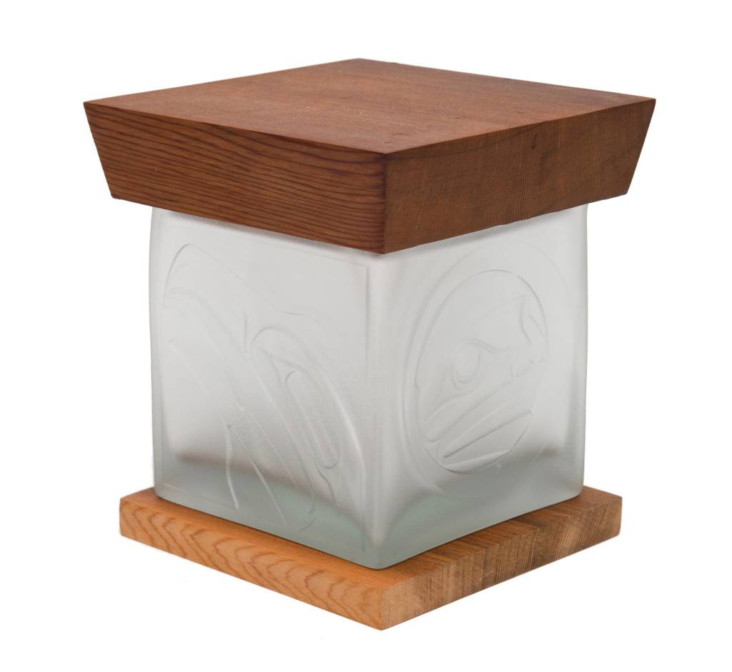 Eagle Glass Box by Alano Edzerza