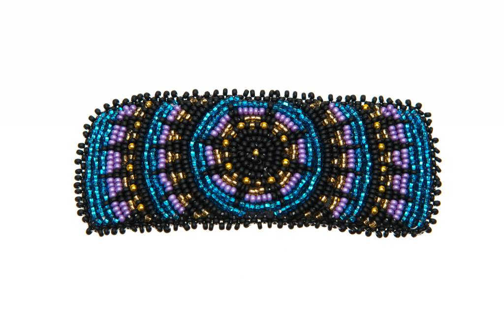 Hand Beaded Barrettes