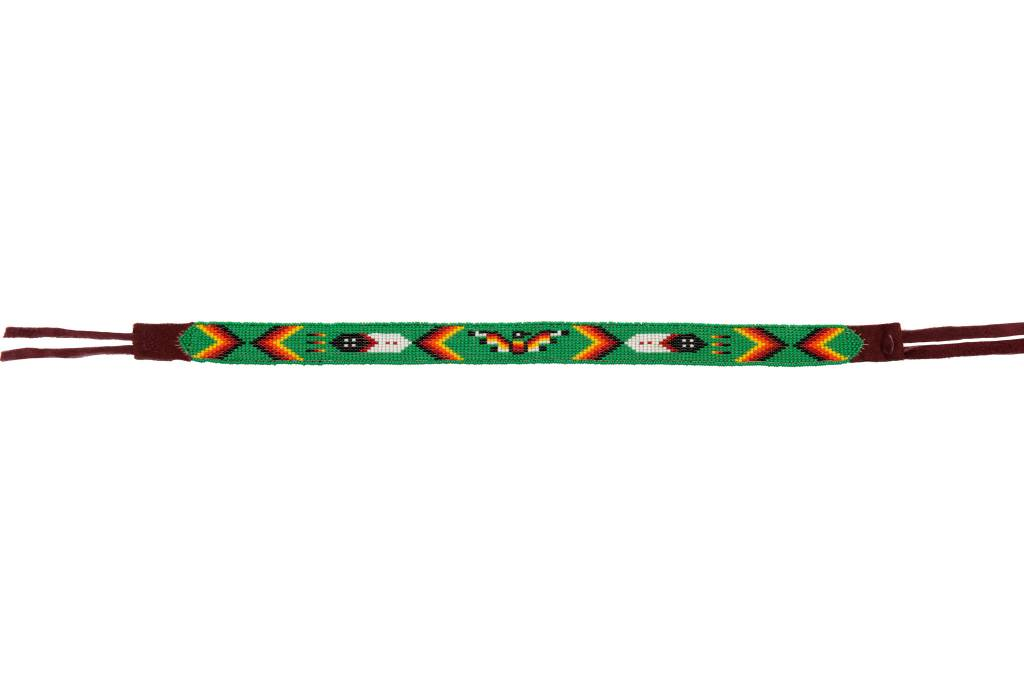 Beaded Headbands / Hatbands.