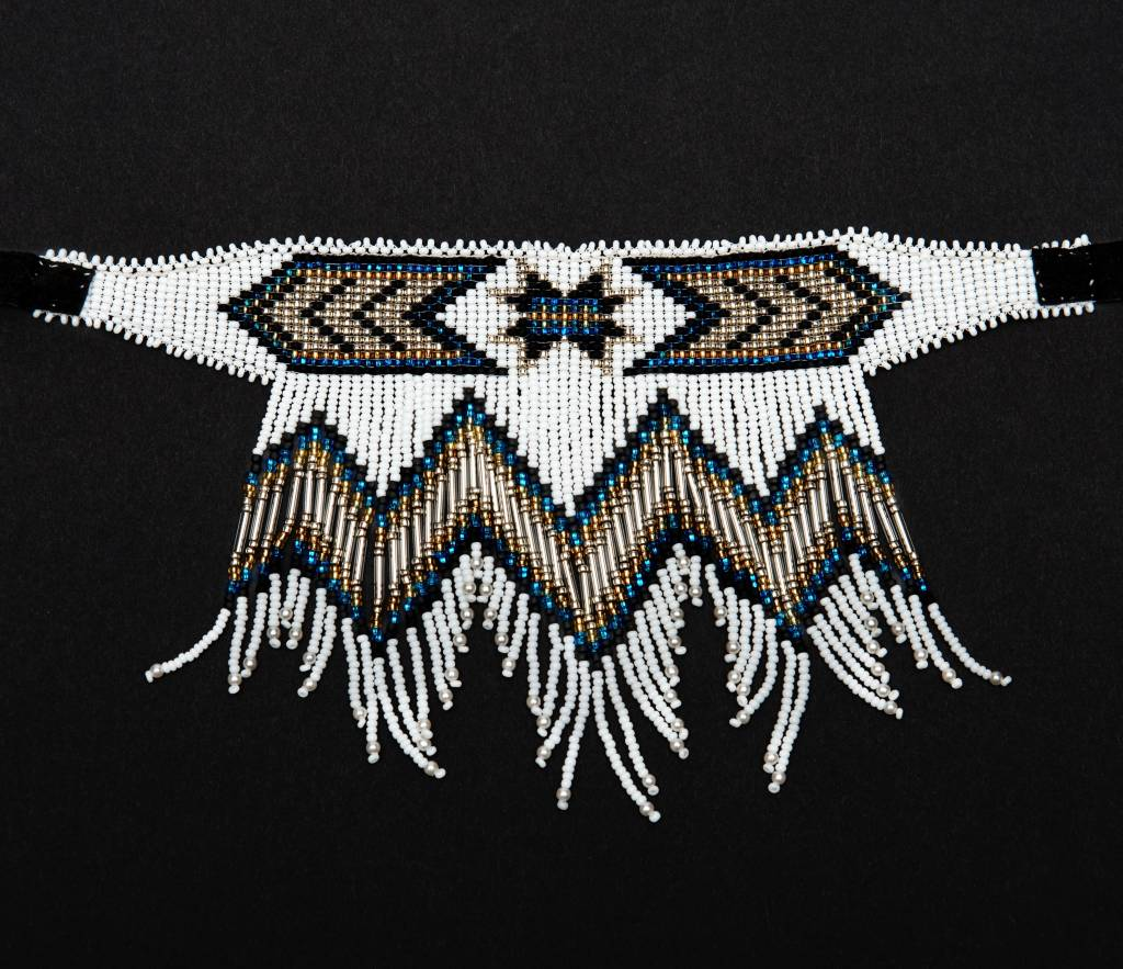 Fancy Beaded Chokers by Grace Touchie.